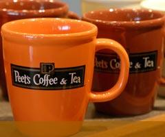 peets coffee mugs
