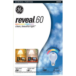 ge reveal 60 watt