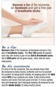 nononsense-sock giveaway