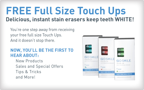 FREE Go Smile Full Size Touch Ups at 4 PM EST! - Cha-Ching on a ...