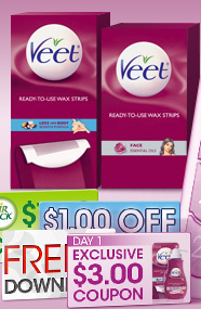 The Veet wax strips retail for $, but when you can find the $3 off Veet wax strips coupon, you can get this product for free! Highlights for Veet Maintain your silky smoothness without the work, time and effort of everyday shaving.