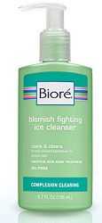 FREE Sample of Biore Blemish Fighting Ice Cleanser - Cha-Ching on a Shoestring™