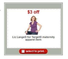 Liz lange maternity target coupon code