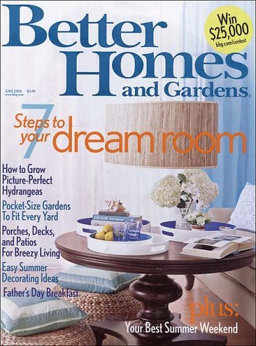 Better Homes And Gardens Magazine For Only Per Year Today Only Cha Ching On A Shoestring