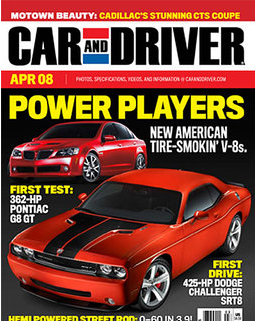 Car and Driver Mag