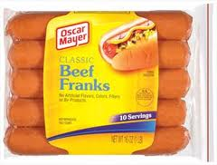 oscar mayer franks
