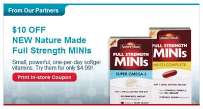 Nature Made minis coupon
