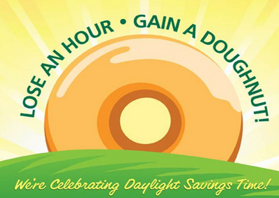 Krispy Kreme Daylight Savings
