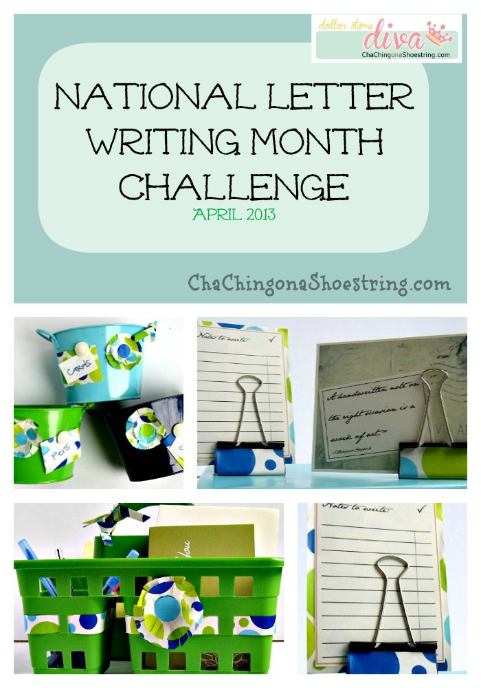 National Letter Writing Month Collage