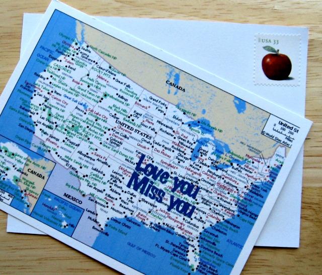 PostCard-Map