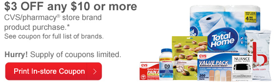Cvs coupons in store