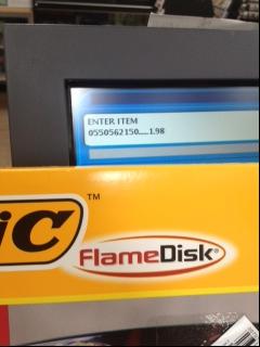 Free-Bic-Flame-Disks