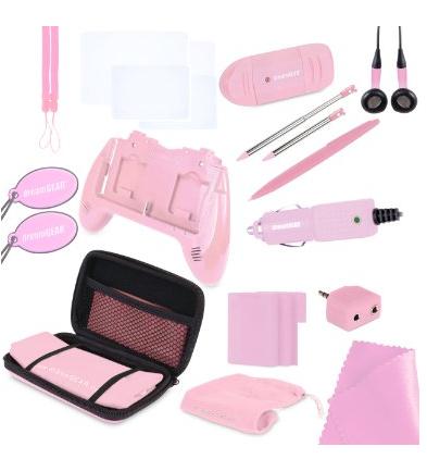 Nintendo 3DS Pink Accessories Kit