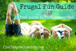 Project Summer Frugal Fun Guide