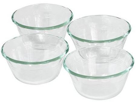 Pyrex Clear Custard Cups