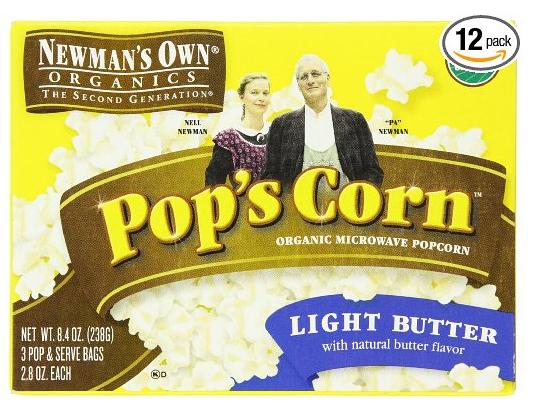 newman's own popcorn