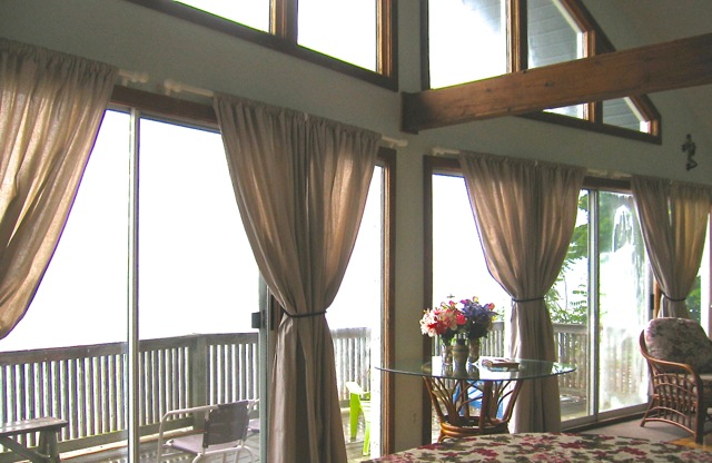 Canvas Drop Cloth Curtains