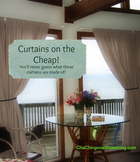 Curtains on the Cheap