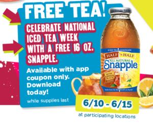 Free-Snapple-Tea