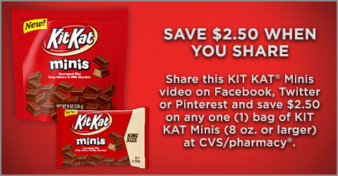 kit kat minis coupon