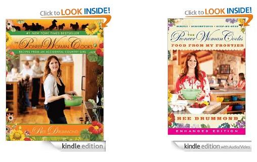 Pioneer Woman Cookbooks