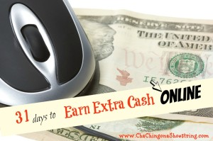 31 Days to Earn Extra Cash Online=