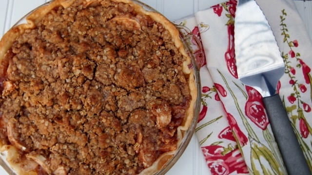 Apple Crisp Pie Recipe
