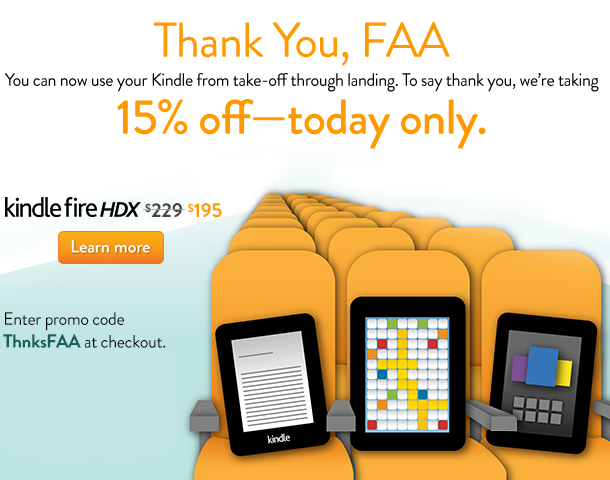 Kindle fire discount code get 15 off today only cha for Firebox promotional code