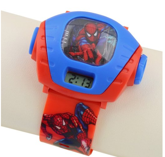 Amazon spiderman wrist watches for shipped cha ching on a shoestring for Spiderman watches