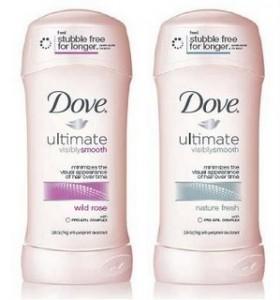 Dove visibly smooth