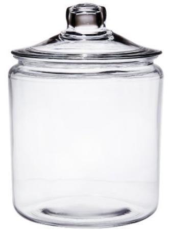 Anchor Hocking Glass Jar