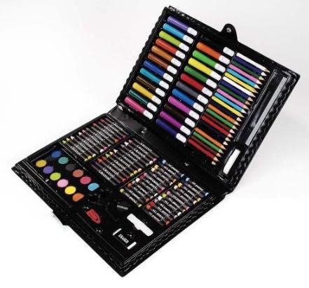 Darice 120-Piece Art Set