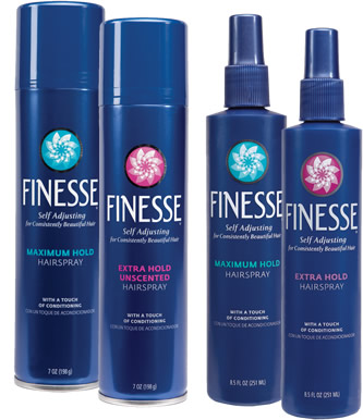 Walgreens: Finesse Hair Spray.