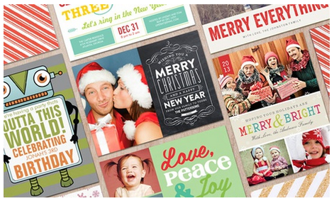 christmas card deals november 2013